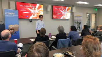 2018 Chinese Cuisine Styles and Wine Varieties Lecture