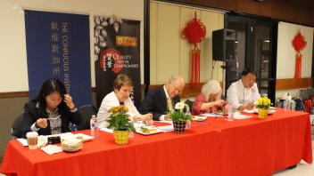 Judging the Innovative Cooking Competition