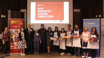 Winners of the 2018 Innovative Cooking Competition