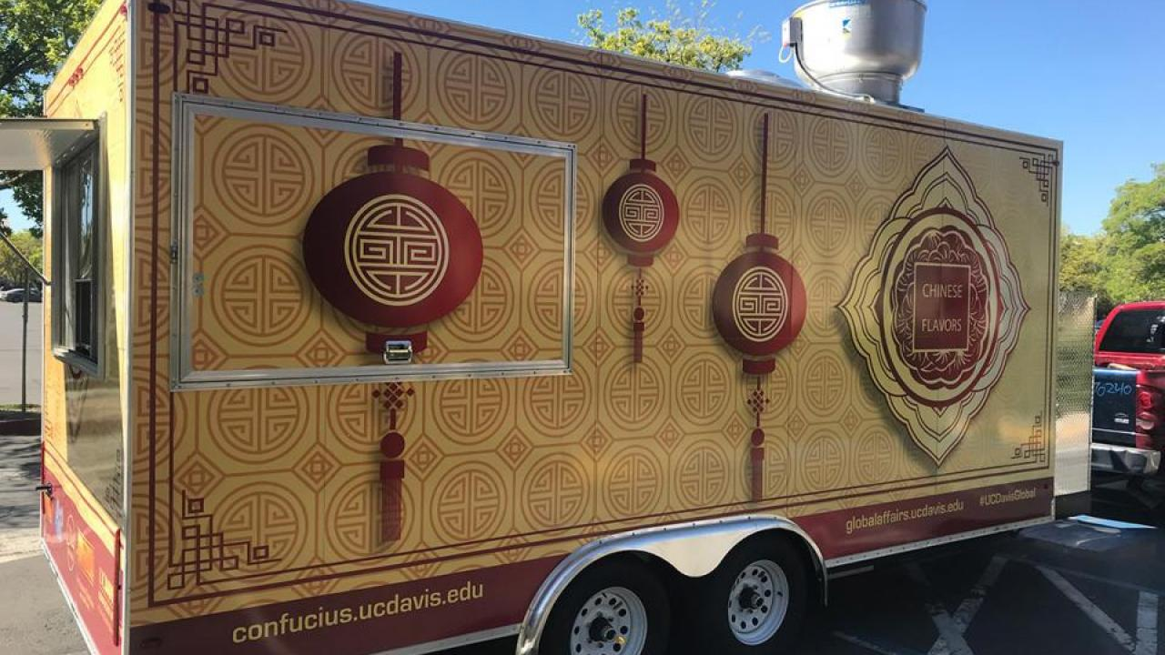 Chinese Flavors, the newest campus food truck, will open April 12 with an event at the International Center. (Kraig Brady/UC Davis)