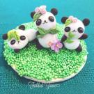 Chinese Dough Art - Pandas